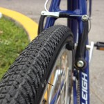 Tires for a smooth street riding
