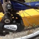 Shimano Altus rear derraileur