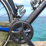 Double water bottle cages